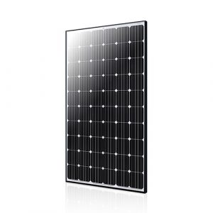 The ET-M660300WB solar panel with anti-reflective coating to reduce maintenance costs.