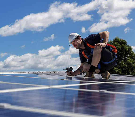 Easy solar worker panel